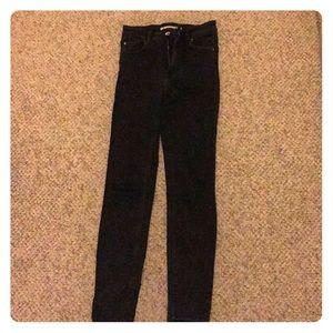 Black jeans by Zara